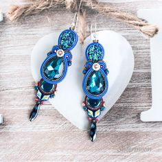 Soutache Earrings, Dangle Earrings, Gifts For Women, Gifts For Her, Copper Lighting, Chan Luu, Organza Bags, Hermes, Jewelry Box