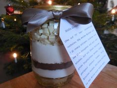 Double Chocolate Cookie Mix in a Jar