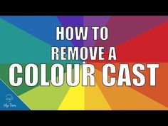 PHOTOSHOP TUTORIAL: How to Remove a Colour Cast - FAST! 3 ways using white balance, thresholds, or very fast, color efex remove colorcast