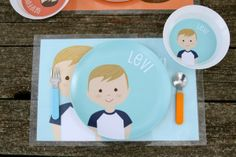 Personalised Plates, Bowls and Plate and Bowl sets form Sweet Creations