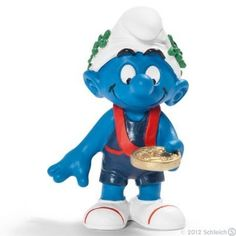Schleich Captain Smurf Toy Figure