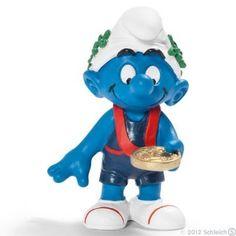 Schleich Captain Smurf Toy Figure