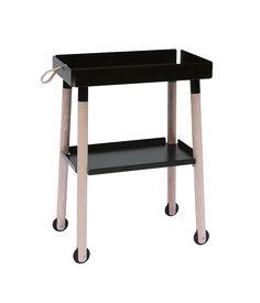Om det er ved spisebordet eller ved siden af sengen, ankommer rullebordet, Donkey, med det, du mangler og spreder glæde i hverdagen.