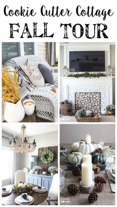 Cookie Cutter Cottage Fall Tour | Bless'er House