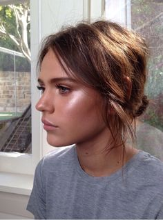 Luminous, dewy skin