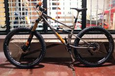 Babah Bike Brandal - Handmade Reynolds 520 Cromoly Fullsuspension