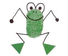 frog crafts for kids « Preschool and Homeschool Kids Crafts, Toddler Crafts, Arts And Crafts, Toddler Art, Frog Theme, Fingerprint Art, Thumb Prints, Hand Prints, Footprint Crafts