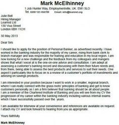 10 Best Cover Letter Examples Images Cover Letter For