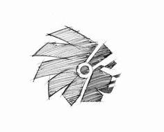 大神的 LOGO 草图是这样画的 | 设计达人