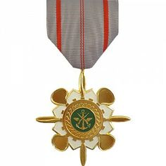 The Republic of Vietnam Technical Service 1C Medal was a decoration presented by South Vietnam to recognize military personnel and civilians who worked as military technicians and demonstrated exceptional skill and dedication. The 1st Class medal is awarded to officers and the 2nd Class medal is awarded to non-commissioned officers and enlisted men.