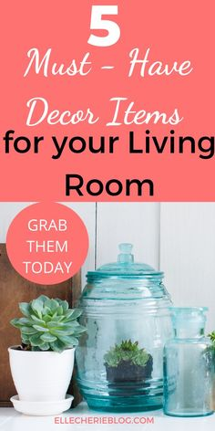 Is your Living Room screaming out for a change around? Not sure what items you could get to spruce up the living space? See our 5 must have decor items! Living Room Decor Items, Living Room Shelves, Living Room Update, Large Floor Vase, Tall Floor Vases, First Apartment Decorating, Luxury Cushions, Elegant Dining, Throw Cushions