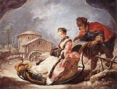 François Boucher - L'hiver - Huile sur toile, 55 x 71 cm - 1735 - Frick Collection, New York artismirabilis.com/ www.artismirabilis.com/actualite-litteraire-et-musicale/LYON/2013/Tony-Garnier-Pierre-Gras.html www.artismirabilis.com/actualite-litteraire-et-musicale/LYON/2013/Peggy-Guggenheim-un-fantasme-d-eternite-Veronique-Chalmet.html www.artismirabilis.com/actualite-litteraire-et-musicale/LYON/2013/a-la-decouverte-de-la-Vanoise-Parc-National.html