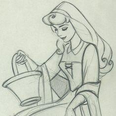 princesas de disney dibujos a lapiz - Buscar con Google