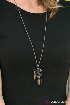 We've got a formula for fabulous: Fashion. Five bucks. Come see what the Paparazzi party is all about. Brass Necklace, Brass Jewelry, Paparazzi Accessories, Paparazzi Jewelry, Desert Dream, Wire Pendant, Brass Chain, Diva, Deserts