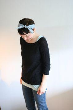 Ravelry: Alex - top down sweater pattern by Clara Falk