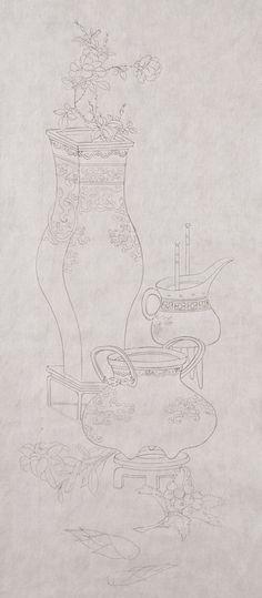 Korean Painting, Art Drawings, Illustration, Asian, Illustrations, Art Paintings