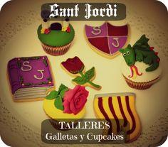 Sant Jordi  Galletas y Cupcakes