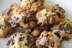 Recept na velmi dobré sušenky s datlemi a ovesnými vločkami. Cauliflower, Sweets, Healthy Recipes, Cookies, Chicken, Meat, Baking, Vegetables, Food