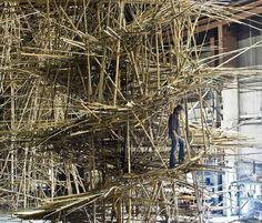 mike and doug starn: big bambu at MACRO in rome for enel contemporanea