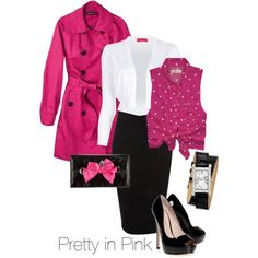 """""""Pretty In Pink"""" by lazell-hammons on Polyvore"""