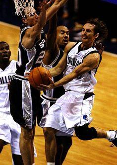 Steve Nash Dallas Mavericks Michael Finley San Antonio Spurs Bruce Bowen Manu Ginobili