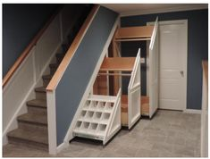 Clever Storage Ideas for Your Stairs - Stair Solution
