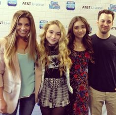 "Photos: ""Girl Meets World"" Cast At Meet father mother and daughter and best friend"