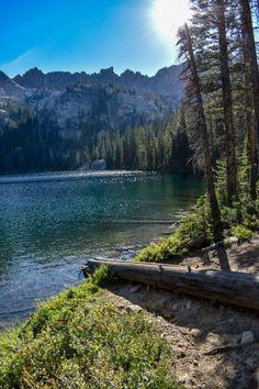 Idaho Weekend Trip: Sawtooth Camping at Alpine Lake - Along Came Alex