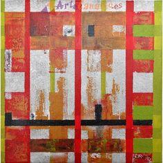 Trazos geométricos I La Tienda de ArteCanario.es  Artista: Antonio Doreste  #artecanario #comprar #arte #canarias