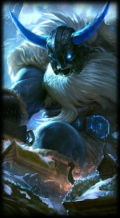 League of Legends- Glacial Olaf