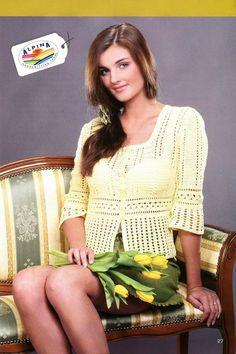 Irish crochet &: Жакет. Ажур. JACKET
