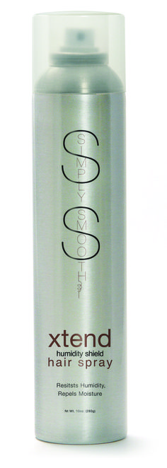 Lightweight, non-flaking aerosol spray resists humidity, repels moisture, and leaves hair touchable with a light to firm hold.