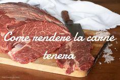 Come rendere la carne tenera Pizza Rustica, Pitta, Biscotti, Italian Recipes, Barbecue, Main Dishes, Steak, Food And Drink, Cooking Recipes