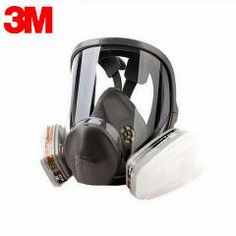 Inventive Full Face 6800 7 Pcs Gas Mask Pesticides Facepiece Respirator Painting Spraying 6001 Filter Cartridge Chemical Medicine Party Masks Festive & Party Supplies