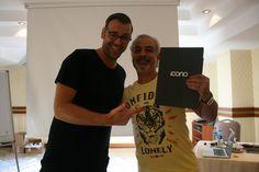 ICONO EĞİTİM katılımcılarımızdan Mansur Yalçın ve eseri!