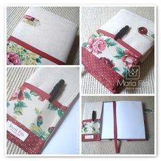 Capa de Agenda - Livro / Bookcover - Notebooks