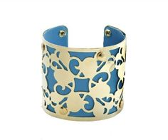 Blue and gold cuff £ Available now