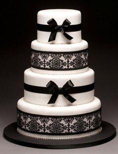 1000+ ideas about Damask Wedding Cakes on Pinterest   Damask ...