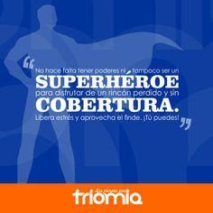 Viernes de superhéroe.