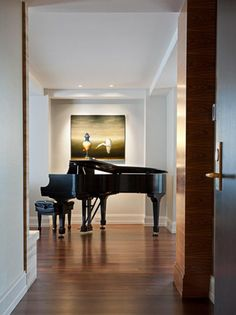 Photo of White Classical Library project in Seattle, WA by Susan Marinello Interiors