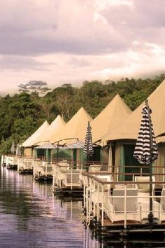 Discover Cambodia with this unique glamping experience. The Four Rivers Floating Lodge.