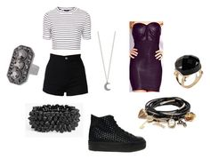"""4minute - Ready Go"" by clemerina ❤ liked on Polyvore featuring ASOS, Forever 21, Topshop, GUESS, Tasha, ALDO and Monsoon"