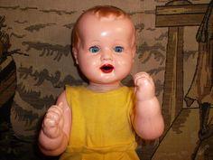 Star� panenka - miminko - hadrov� t�lo, p�sti Dolls, Retro, Vintage, History, Nostalgia, Baby Dolls, Puppet, Neo Traditional, Rustic