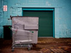 Still life with shopping trolley, Maroochydore