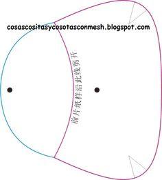 Manualidades moldes para carteras de tela : cositasconmesh