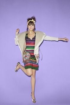 """Desigual New women's fall/winter 2018 collection. Discover all the new arrivals from the """"We Are Animals"""" collection! Daily Fashion, Boho Fashion, Womens Fashion, Spring Summer 2016, Striped Dress, Bunt, Casual Wear, Dresses For Sale, Fall Winter"""