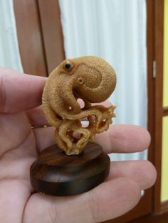 tagua nut carving- beautiful work