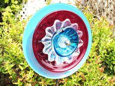 Garden Art Flower Plate