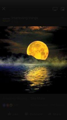 gorgeous moon