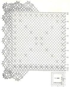 napperon carré 8.